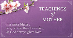 Teachings of Mother